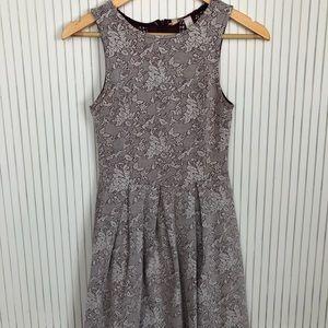Floral summer dress- fit and flare- Francesca's